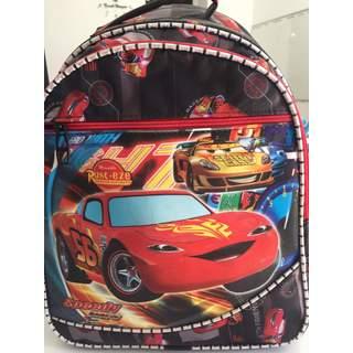 Speedy Cars Sırt Okul Çantası