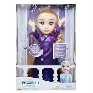 Disney Dondurulmuş 2 Şarkı Elsa Bebek