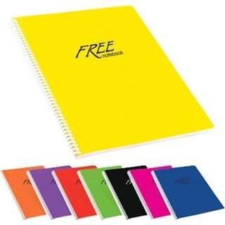Free Notebook Spiralli 40Sayfa Matematik Defteri