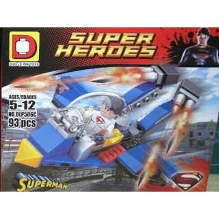 Super Heroes Superman 93 Pcs Blok