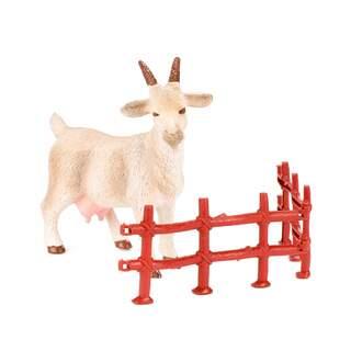 Çiftlik Hayvanı 8 Cm Çitli  Dağ Keçisi