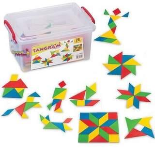Dede tangram küçük kutu 28pcs
