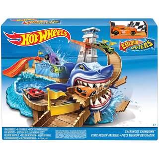 Hotwheels Renk Değiştiren Araçlar Sharky Yarış Seti