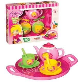 Candy Tepsili Çay Seti