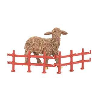 Çiftlik Hayvanı 8Cm Çitli Koyun