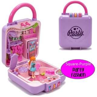 Mini Prenses Süpriz  Oyun Evi Çantası