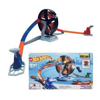 Hotwheels Dönen Tekerlek Macerası Yarış Seti