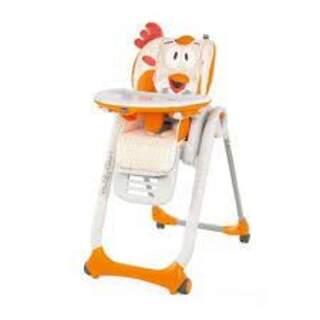 Chicco Polly 2 Start 4 Tekerlekli Mama Sandalyesi Gri