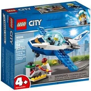 Lego Gökyüzü Polisi Jet Devriyesi