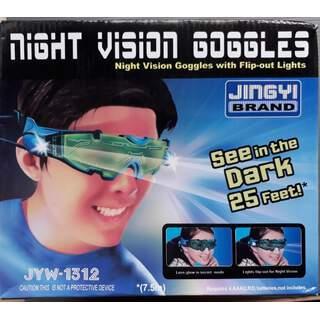 Işıklı Gece Görüş Gözlüğü