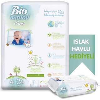Sleepy bio natural maxi no4 bebek bezi