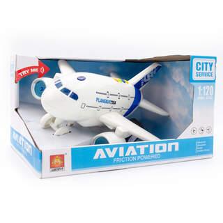 Service İttirmeli Sesli Uçak