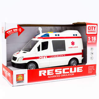 Service İttirmeli Sesli Ambulans, Beyaz
