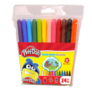 Play-Doh Keçeli Kalem 12'li