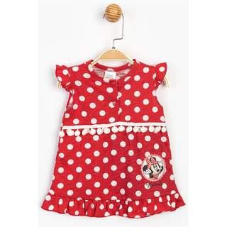 Minnie Mause Puanlı Elbise