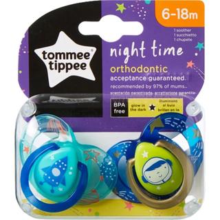 Tommee Tippee Ortodontik Gece Emziği 2'li 6-18 Ay