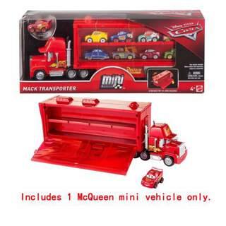 Cars Mini Racers Mack Transporter Hauler Kamyon