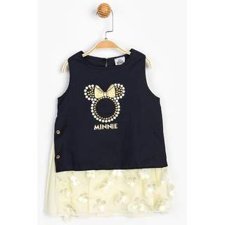 Minnie Mause Lacivert Elbise