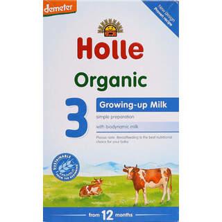 Holle Organik İnek Sütü 3 600gr