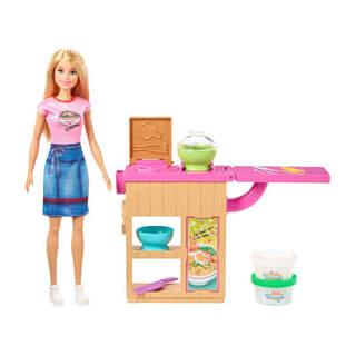 Barbie Noodle Yapıyor Oyun Seti