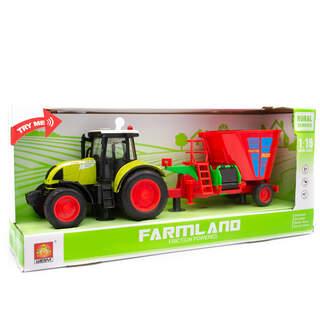 Farmland İttirmeli Sesli Tohum Makineli Traktör