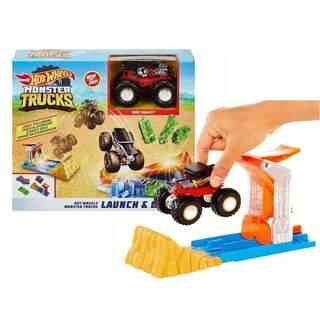 Hotwheels Monster Trucks Fırlat Ve Çarpış Oyun Seti