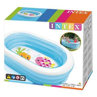 Intex Şeffaf Oval Havuz