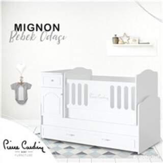 Mignon 80*180 Uzayan Sallanır Bebek Karyolası