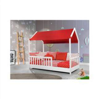 Alessi Montessori çatılı sadece yatak 90x190