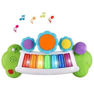 Sihirli Gökkuşağı Işıklı Elektronik Müzik Piyano